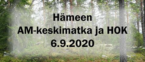 Hameen AM-keskimatka ja HOK 2020