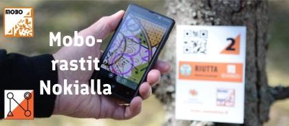 Mobiilisuunnistusta Nokialla